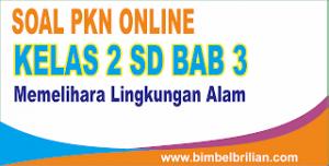 Soal PKN Online Kelas 2 SD Bab 3 Memelihara Lingkungan Alam - Langsung Ada Nilainya