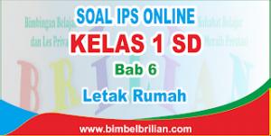 Soal IPS Online Kelas 2 SD Bab 6 Letak Rumah Langsung Ada Nilainya