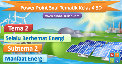 Media Power Point (PPT) Tema 2 Kelas 4 SD Subtema 2