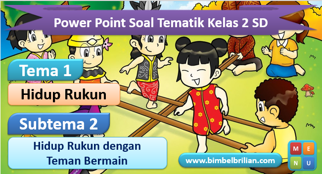 Media Power Point Tema 1 Kelas 2 SD Subtema 2
