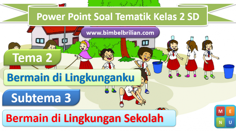 Media Power Point Tema 2 Kelas 2 SD Subtema 3