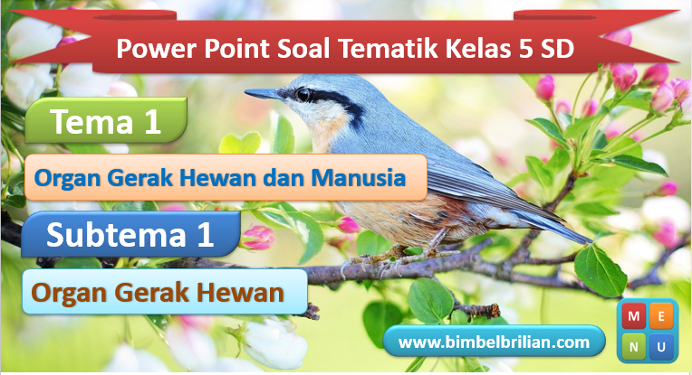 Power Point Tema 1 Kelas 5 SD Subtema 1