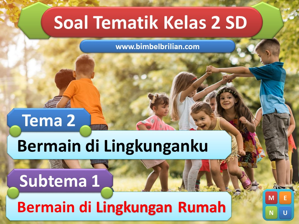 Media Power Point Tema 2 Kelas 2 SD Subtema 1