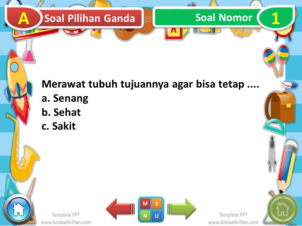 Slide Power Point Kelas 1 SD Tema 1 Subtema 3