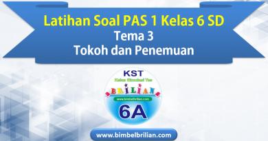 Latihan Soal PAS 1 Kelas 6 SD Tema 4 Globalisasi