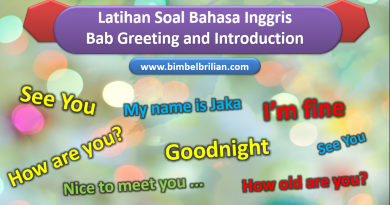 Soal Bab Greeting and Introductions Kelas 1 SD