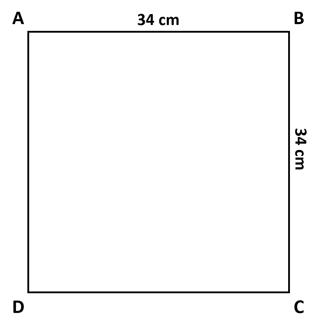 Gambar Segiempat 34x34
