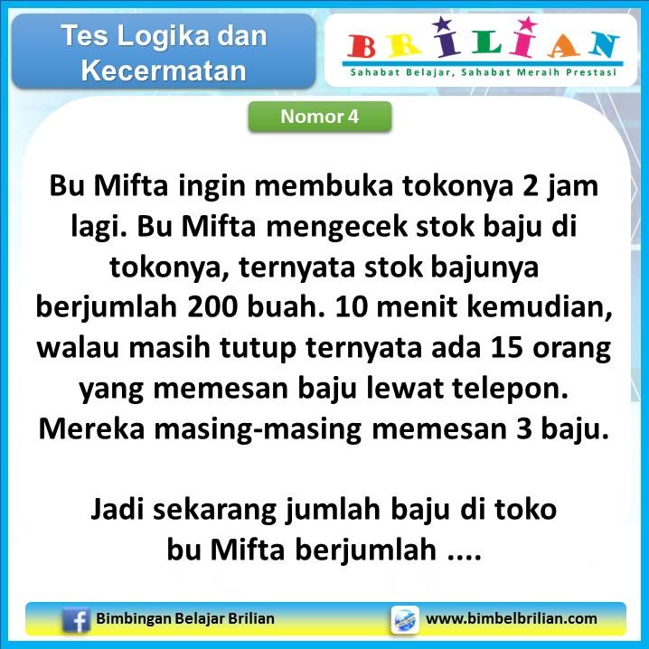 Tes Logika 01 - Nomor 4