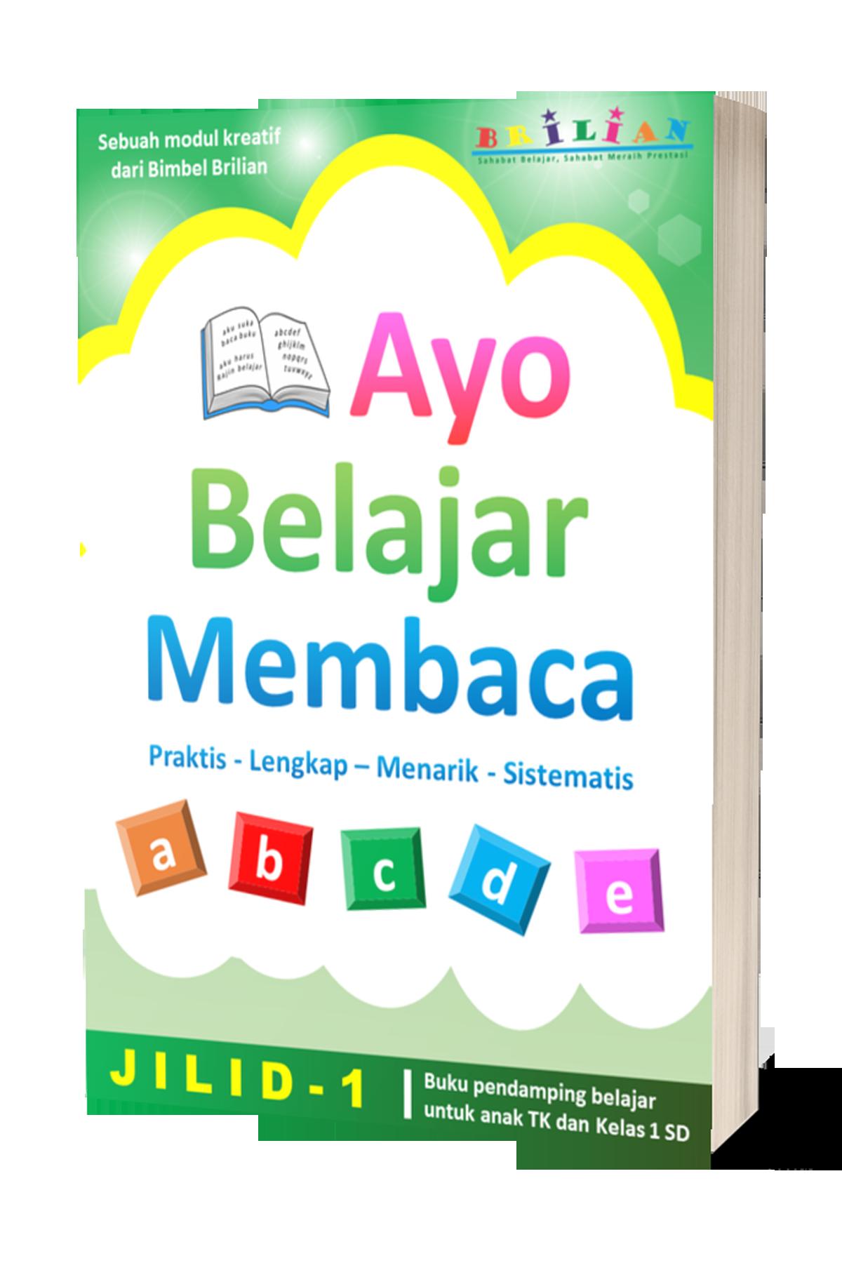 Buku Belajar Membaca Jilid 1
