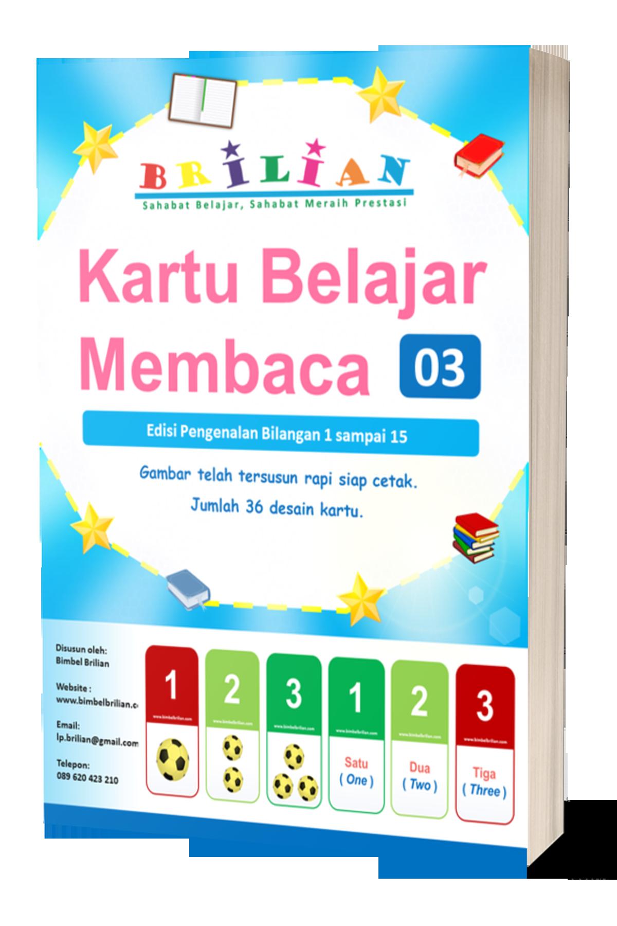 Kartu Belajar Flash Card Edisi 3